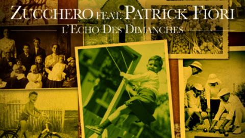 Zucchero in duet with Patrick Fiori
