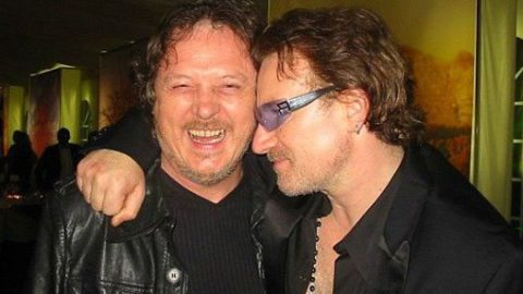 "Tonight in Victoria, in the set list of the concert: ""Someone else's tears"", the song Zucchero wrote with Bono."