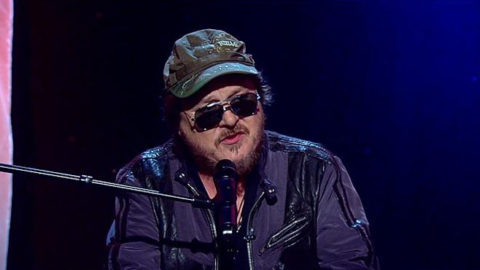 "Zucchero guest of the program ""Good Day New York"""