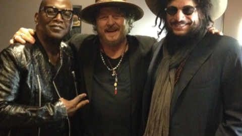 Don Was and Randy Jackson special guests last night at Club Nokia in Los Angeles