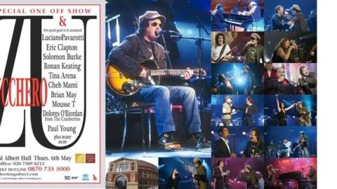 0 years today from the spectacular concert event at the Royal Albert Hall by Zucchero