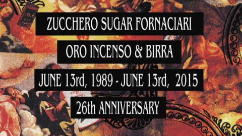 """26 YEARS OF """"ORO, INCENSO & BIRRA"""""""