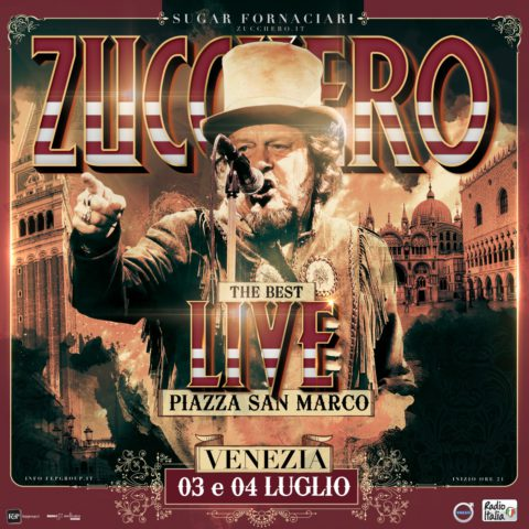 """July 3rd & 4th 2018 """"The Best Live"""" Piazza San Marco – Venice"""
