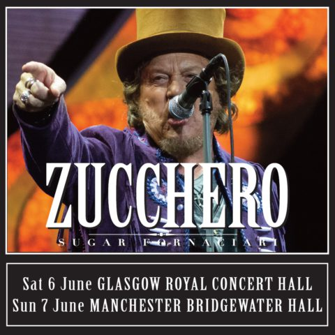 Zucchero UK 2020: two new shows!