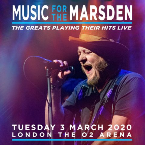 ZUCCHERO AT THE O2 ARENA IN LONDON FOR 'MUSIC FOR THE MARSDEN'