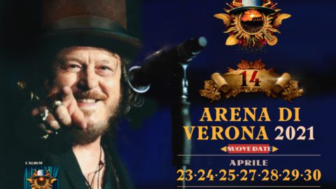 14 EXCLUSIVE ADVANCE SHOWS AT THE VERONA ARENA AS PART OF THE D.O.C. WORLD TOUR POSTPONED UNTIL APRIL AND MAY 2021
