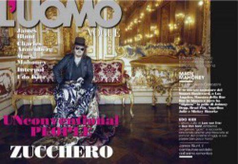 Zucchero intervistato su L'Uomo Vogue