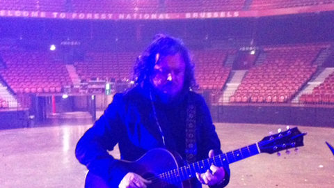 Sound check in Bruxelles – Forest national
