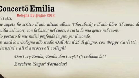 Concerto per l'Emilia 25/06