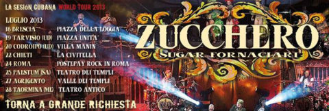 "Riparte stasera in Italia ""La Sesión Cubana"" world tour 203"