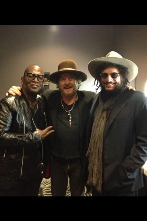 Don Was e Randy Jackson invitati speciali ieri sera al Club Nokia di Los Angeles