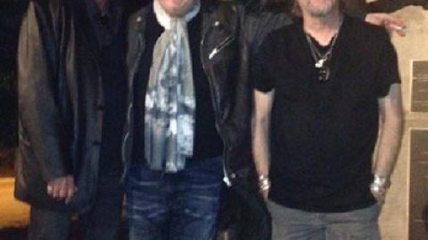 Zucchero, Gregg Rolie (tastierista di Santana) e Jimmy Lafave