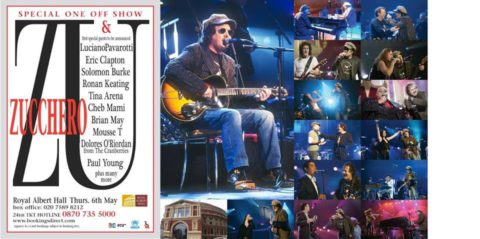 10 anni dallo spettacolare concerto evento di Zucchero alla Royal Albert Hall di Londra