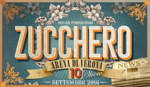 Zucchero Arena di Verona 2016