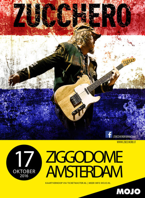 Zucchero Live 2016 Paesi Bassi