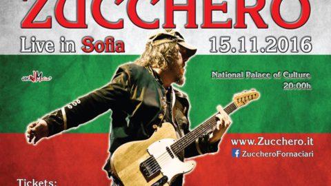 ZUCCHERO LIVE 2016 SOFIA