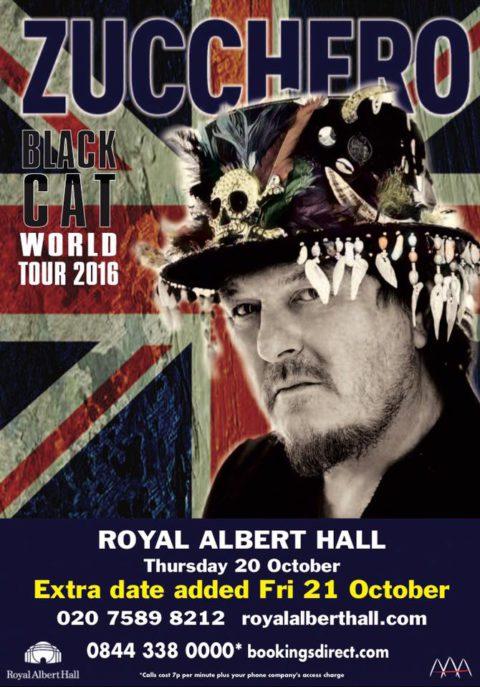 Royal Albert Hall: aggiunta una seconda data il 21 Ottobre!