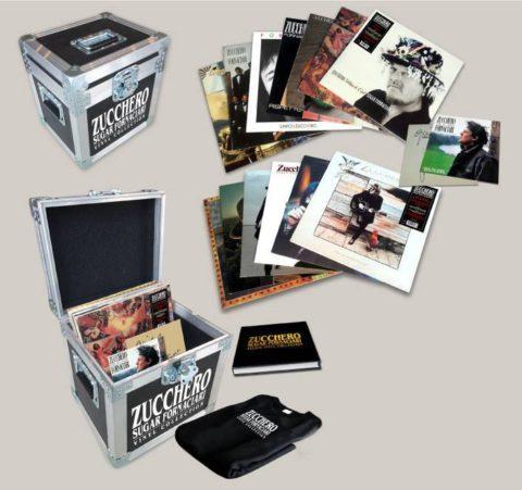 Zucchero Studio Vinyl Collection dal 23 Settembre