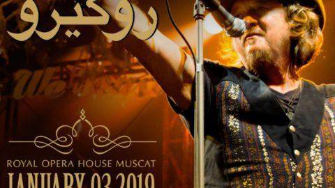 Zucchero live in Oman, Royal Opera House Muscat