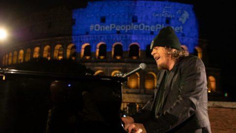 Zucchero & Bono – Canta la vita (Let your love be known) – Roma, 22 aprile 2020