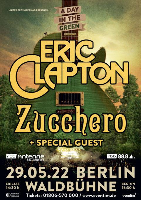 ZUCCHERO & ERIC CLAPTON LIVE! 29.05.22 BERLIN, WALDBÜHNE
