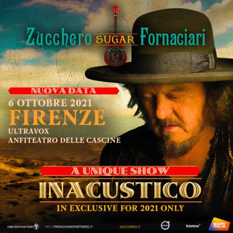 INACUSTICO 2021: nuova data a Firenze il 6 ottobre